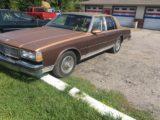 90 Chevrolet Caprice Classic Brougham 123,000 miles $5995