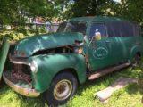 1954 GMC 3/4 ton panel   1000