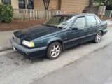 !!! SOLD !!! 1995 VOLVO 850 GLT 5 cylinder automatic Sun Roof top Ca. Car 131,000 runs good 2995