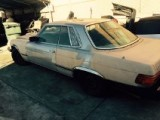 !!! SOLD !!!   1976 Mercedes 450SL parts car  $1200